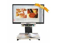 Zoomax - Aurora HD 24 Inch Widescreen LED Color Video Magnifier.