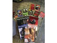 PlayStation Magazines 50+ Mint Condition