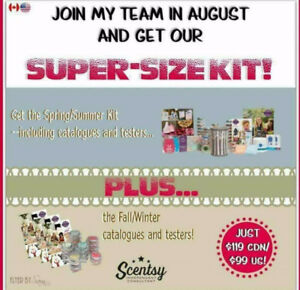 SCENTSY AMAZING MONTH OF AUGUST