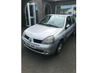 Renault Clio 16v, 3door hatchback, alloy wheels, 5 months MOT