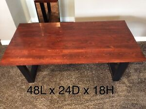 NEW - coffee table + 2 end tables