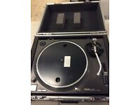 Two Technics SL-1210 MK2 Turntables for sale.