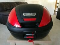 Givi E370N Motorbike Top Box (Brand new, unused) ... Price reduced !!