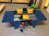 Workzone professional bench top router table