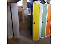 Probe clothes locker in lemon. Single door