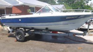 Boat Motor & Trailer For Sale