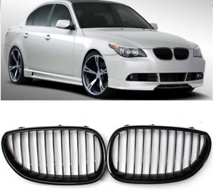 03-09 BMW E60 E61 5 SERIES GLOSS BLACK GRILLE
