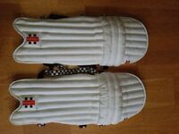 Grays Boys cricket batting pads, Power-bow. Used but in good condition