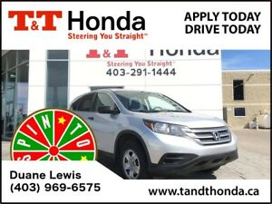2014 Honda CR-V LX* No Accidents, Heated Seats, Bluetooth*