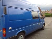 Ford transit 2500cc TD. Part converted campervan