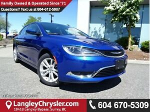 2016 Chrysler 200 Limited DEMO CLEAROUT W/  REAR-VIEW CAMERA...