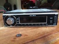 Alba car CD player with radio