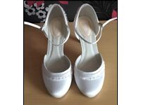 Pink By Paradox London - Two Part Round Toe 'Frill' Shoes Size 5