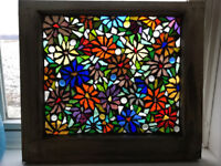 MOSAIC STAINED GLASS CLASS!!
