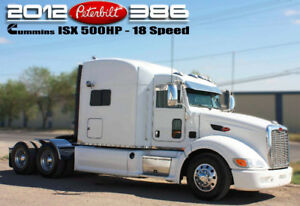 2012 PETERBILT 386 ***500HP ISX - 18 SPEED***
