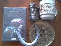 Horse, Hunting, Racing DVD and display items