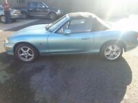 Mazda MX5 1.6 2002, low miles £1100 ono