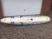 Kona 'exocet' longboard windsurfboard