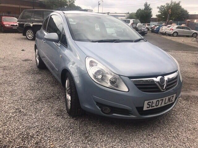2007 Vauxhall Corsa 1.3 CDTi 16v Design 3dr (a/c) HALF LEATHER +ALLOY WHEELS