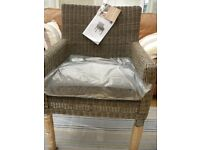 KETTLER Bretagne Outdoor Indoor Dining Garden Chair RRP £199 - BRAND NEW with TAGS
