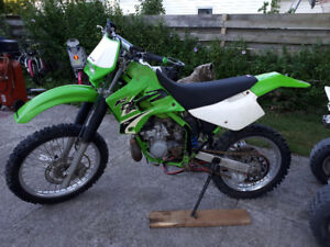 Kawasaki kdx 220      best offer