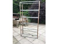 Storage rack - tall - metal