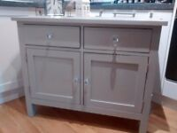 Beautiful Shabby Chic Painted Solid Oak Sideboard