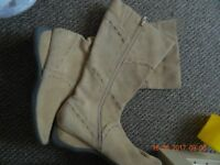 Barratts ladies size 7 boots