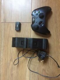 Official Xbox one controller plus charge kit