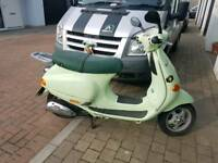 Vespa lx 50 moped 2002 classic retro twist & go