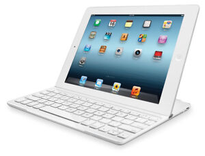 LOGITECH MAGNETIC BLUETOOTH KEYBOARD COVER FOR IPAD