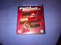 Fast and Furious Blu-ray 7 disc box set