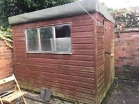 Garden Shed for free, buyer dismantles and removes 8 x 6 needs a floor and roof renovation.