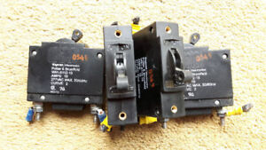 Potter & B (#W91-X112-15) CIRCUIT BREAKER Switches 15A, 277 V