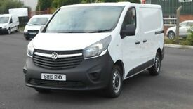 *RESERVED* 2016 VAUXHALL VIVARO CDTI. AS NEW THROUGHOUT. DAB STSTEM. BLUETOOTH ETC AND NO VAT.