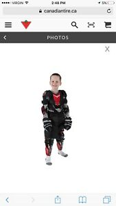 Bauer youth lrg protective hockey kit - blk