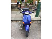 Lovely example of a Piaggio Vespa et2 50cc £1300ono. Recent mot and service. Want to upgrade to 125
