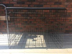 42' Double Door Folding Dog Crate