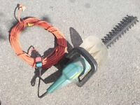 Hedge trimmer + 20 meter detachable lead