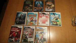 Wii Games for Sale - No More Heroes 2, Resident Evil 4, SSX