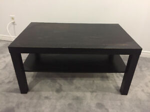 IKEA LACK COFFEE TABLE BLACK/BROWN GREAT CONDITION!!!