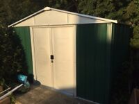 Yardmaster Metal Shed 10x10. Already Assembled. Collection Essex.