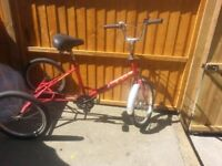 WOW RARE FIND TRIKE FOR SALE VERY STRONG GEL SEAT RIDE AWAY 50 POUND