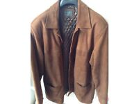 MENS' SUEDE JACKET ~ XL