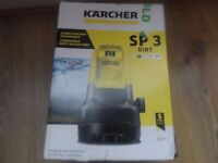 Karcher SP3 Dirt flood Water pump - New.