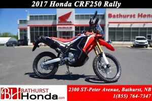 2017 Honda CRF250RLH RALLY RALLY Canadian Trail-Ready!! High RPM