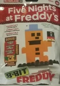 Mcfarlane Five Nights at Freddy's 8-Bit Buildable Figure Freddy