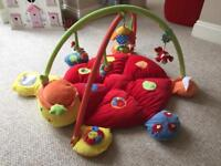 Mamas and Papas Lotty Ladybird Light and Sound Playmat and Gym