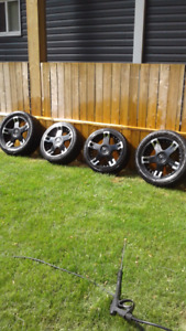 """Rims 20"""" RVM with Tires"""