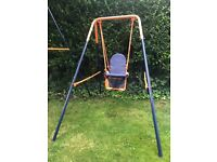 Child's baby swing Hedstorm. Folderble
